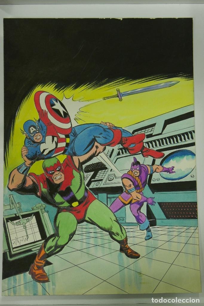Cómics: Lopez Espi Gran lote 21 portadas originales - Foto 11 - 176593994