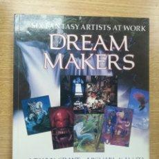 Fumetti: DREAM MAKERS SIX FANTAS ARTISTS AT WORK. Lote 178166992