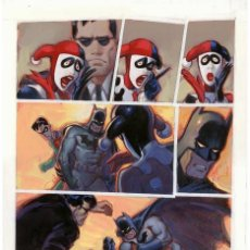 Cómics: JOE CHIODO - ARTE ORIGINAL - BATMAN HARLEY & IVY LOVE OF THE LAM PG.35. Lote 179089290
