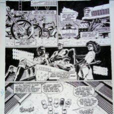 Cómics: PAUL GULACY - ARTE ORIGINAL - SLASH MARAUD #3 PG.11. Lote 179089580