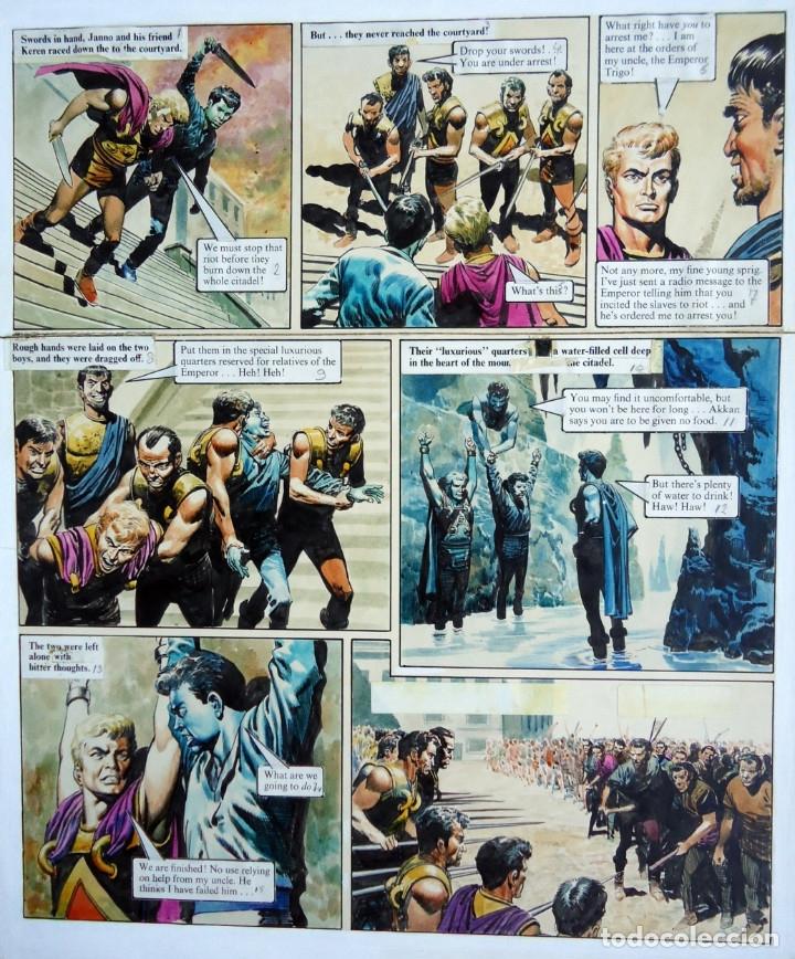 EL IMPERIO DE TRIGAN - DON LAWRENCE - ARTE ORIGINAL (Tebeos y Comics - Art Comic)