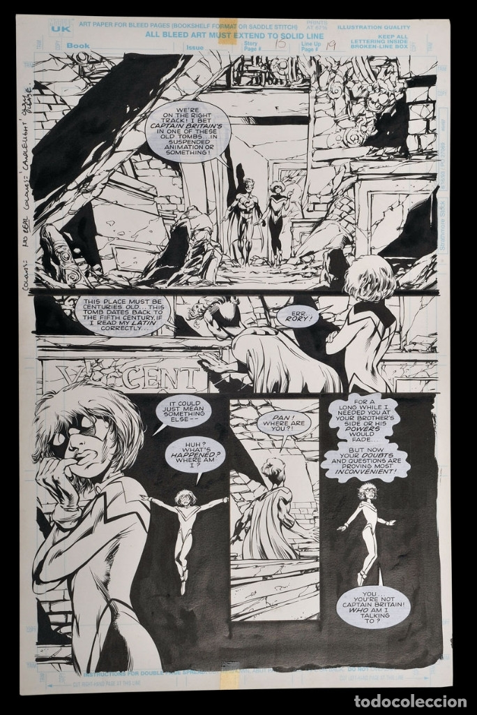 CLANDESTINE #11 PG.15 - BRYAN HITCH - ARTE ORIGINAL (Tebeos y Comics - Art Comic)