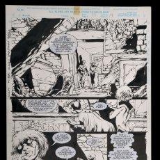 Cómics: CLANDESTINE #11 PG.15 - BRYAN HITCH - ARTE ORIGINAL. Lote 179095992