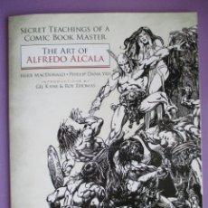 Cómics: THE ART OF ALFREDO ALCALA, NUEVO. Lote 179149575