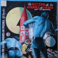 Fumetti: DIBUJO ORIGINAL COLOR LUCHADORES DEL ESPACIO 20 EL MISTERIO DE LOS HOMBRES DE PIEDRA JOSE LUIS ,M6. Lote 182893585