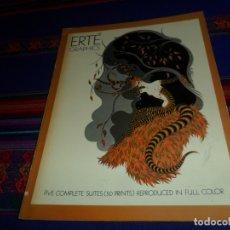 Cómics: ERTÉ GRAPHICS, FIVE COMPLETE SUITES (50 PRINTS) REPRODUCED IN FULL COLOR 1978 REGALO WOMEN LUIS ROYO. Lote 183349861