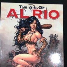 Cómics: ART OF AL RIO VOL 1. Lote 183369383