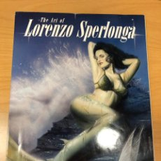 Cómics: THE ART OF LORENZO SPERLONGA . Lote 183370430