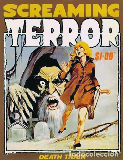Cómics: LOPEZ ESPI - Original cover painting used in Fantom #11 (Vértice, 1973) and Professor Zamorra #98 - Foto 5 - 183600816