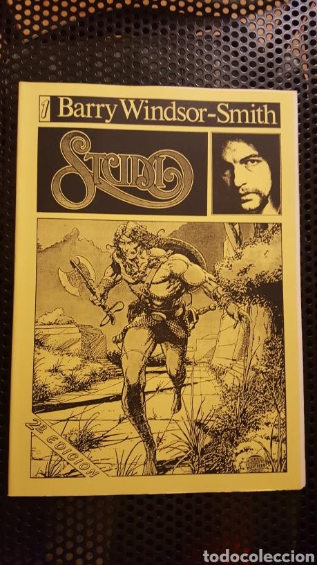FANZINE - STUDIO #1 - BARRY WINDSOR-SMITH - SEGUNDA EDICION - PORTADA AMARILLA - EDICION LIMITADA (Tebeos y Comics - Art Comic)