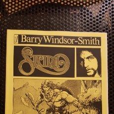 Cómics: FANZINE - STUDIO #1 - BARRY WINDSOR-SMITH - SEGUNDA EDICION - PORTADA AMARILLA - EDICION LIMITADA. Lote 183948300