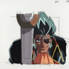 Cómics: HAKUGEI LEGEND OF MOBY DICK ORIGINAL JAPANESE ANIMATION CEL W/ DOUGA B4 ACETATO CELULOIDE ANIME. Lote 184794906