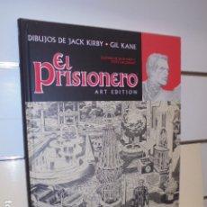 Cómics: EL PRISIONERO - ART EDITION - JACK KIRBY - GIL KANE - PANINI. Lote 185252918
