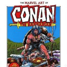 Cómics: CONAN. THE MARVEL ART OF CONAN THE BARBARIAN. JOHN BUSCEMA. BARRY WINDSOR. 224 PÁGINAS. NUEVO.. Lote 185658910