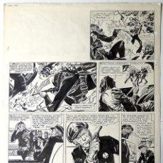 Cómics: ALBERTO BRECCIA. PÁGINA ORIGINAL DE VITO NERVIO (1974). Lote 186121116