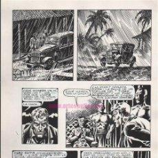 Cómics: PÁGINA ORIGINAL DE ENRIQUE ALCATENA : SINGAPUR PG 7. Lote 187200667
