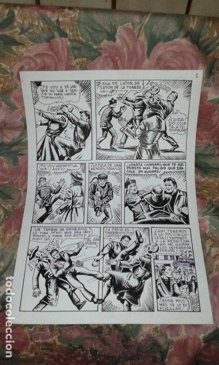Cómics: 3 LAMINAS ORIGINALES DE COMIC - Foto 4 - 187492640