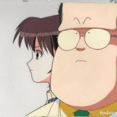 Cómics: DOKKIRI DOCTOR ORIGINAL JAPANESE ANIMATION CEL W/ DOUGA C4 ACETATO CELULOIDE VINILO. Lote 189951476
