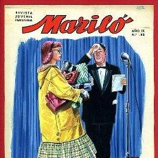 Cómics: DIBUJO ORIGINAL COLOR JOSE LUIS COLECCION MARILO Nº 82 ORIGINAL , M6. Lote 191372023