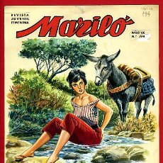 Cómics: DIBUJO ORIGINAL COLOR JOSE LUIS COLECCION MARILO Nº 194 ORIGINAL , M6. Lote 191372071