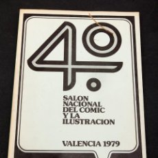 Comics : 4º SALON DEL COMIC DE VALENCIA 1979. Lote 192349870