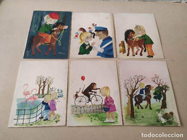 Cómics: DIBUJOS ORIGINALES DE CONCHITA MATAMOROS (14) - CUENTO MILA Y SU PONEY - Foto 2 - 193115438