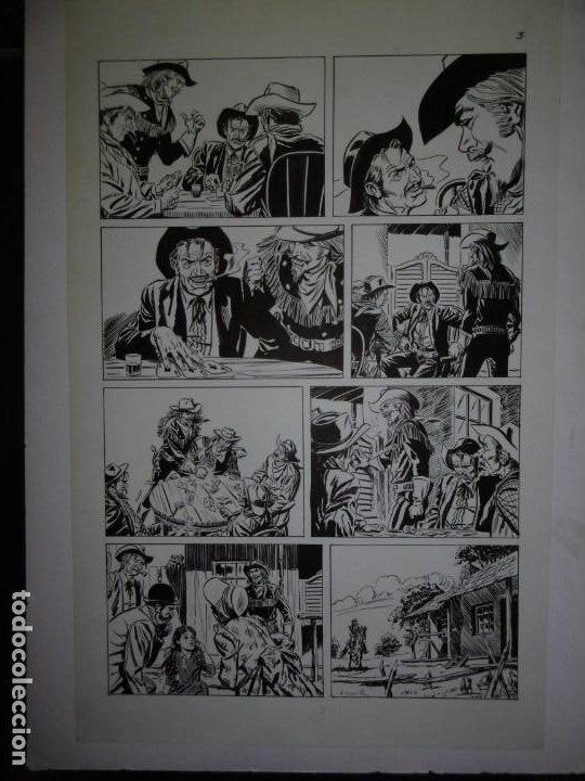 Cómics: BUFFALO BILL - NÚMERO 1 LA MUJER VIUDA - DE JULIO VIVAS - 20 PÁGINAS - 48 x 30cm - COMPLETO - Foto 3 - 193556012