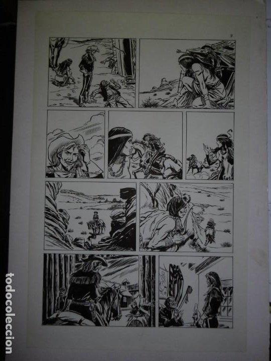 Cómics: BUFFALO BILL - NÚMERO 1 LA MUJER VIUDA - DE JULIO VIVAS - 20 PÁGINAS - 48 x 30cm - COMPLETO - Foto 7 - 193556012