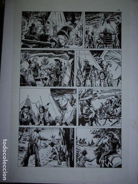 Cómics: BUFFALO BILL - NÚMERO 1 LA MUJER VIUDA - DE JULIO VIVAS - 20 PÁGINAS - 48 x 30cm - COMPLETO - Foto 12 - 193556012