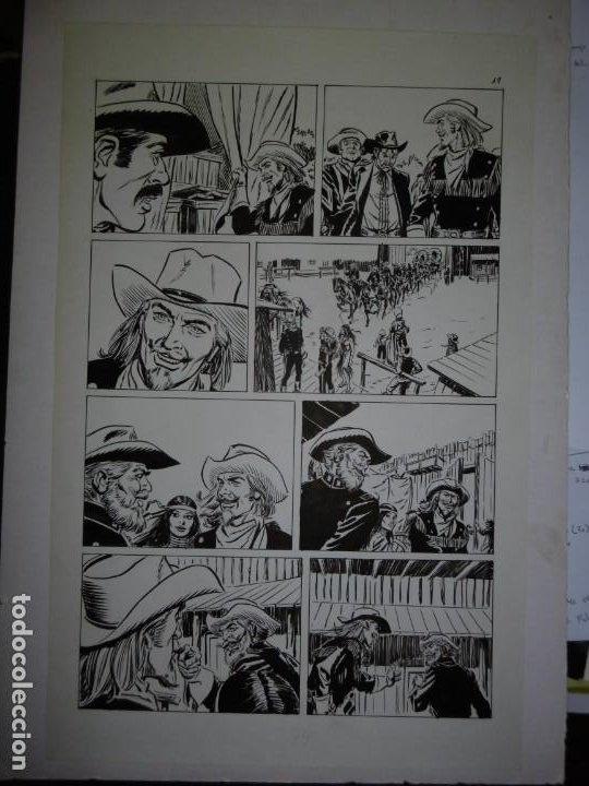 Cómics: BUFFALO BILL - NÚMERO 1 LA MUJER VIUDA - DE JULIO VIVAS - 20 PÁGINAS - 48 x 30cm - COMPLETO - Foto 19 - 193556012