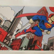 Cómics: SUPERMAN SOBRE MANHATTAN: CLASICO COMIC. CARTEL LITOGRAFICO .REPROGRAFIA. Lote 194158112