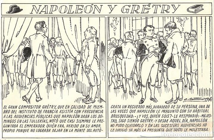 Cómics: ANTONI BATLLORI JOFRÉ - NAPOLEÓN Y GRÉTRY - DIBUJO ORIGINAL - Foto 2 - 194186868
