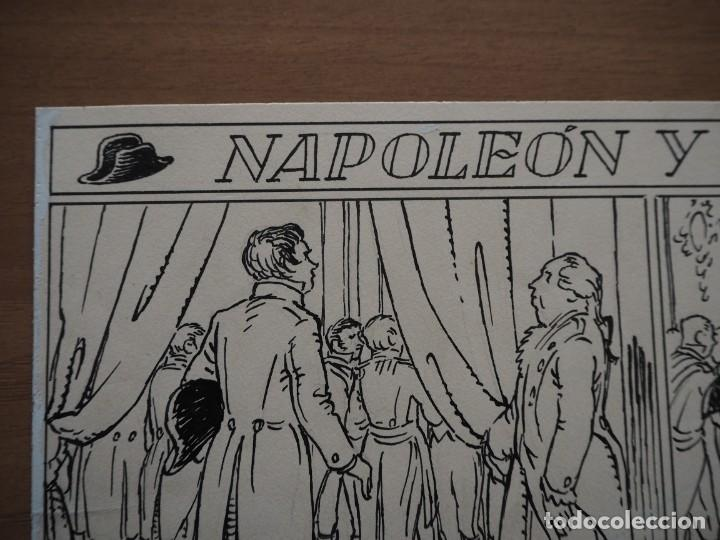 Cómics: ANTONI BATLLORI JOFRÉ - NAPOLEÓN Y GRÉTRY - DIBUJO ORIGINAL - Foto 3 - 194186868