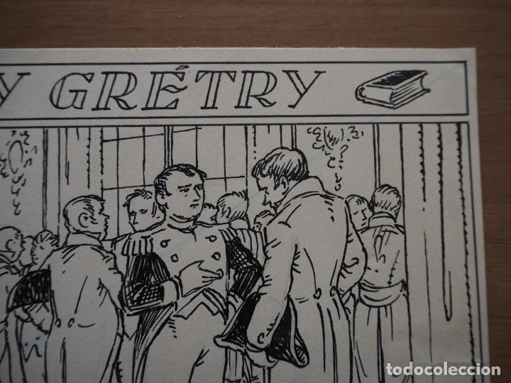 Cómics: ANTONI BATLLORI JOFRÉ - NAPOLEÓN Y GRÉTRY - DIBUJO ORIGINAL - Foto 4 - 194186868
