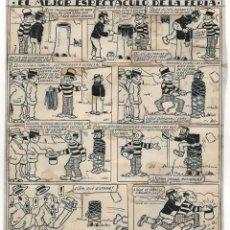 Cómics: ORIGINAL DE LOUIS FORTON: EL ARTE DE HACER DINERO, PUBLICADO EN EL TBO 680 DE 1930. Lote 194275446