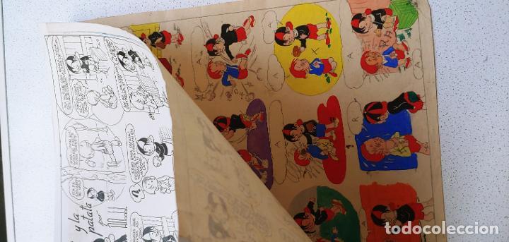 Cómics: Pagina historieta original Tobi publicada en SOS por Angel Nadal Quirch (dibujante de Bruguera) - Foto 7 - 194283612