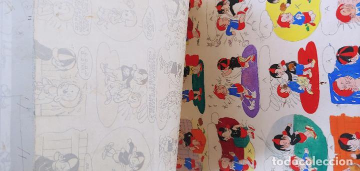 Cómics: Pagina historieta original Tobi publicada en SOS por Angel Nadal Quirch (dibujante de Bruguera) - Foto 8 - 194283612