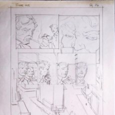 Cómics: 2 ORIGINALS - 1 BOCETO BERNIE WRIGHTSON BATMAN THE CULT + 1 PÁGINA HELLRAISER DEL GRAN JOHN BOLTON. Lote 194519736