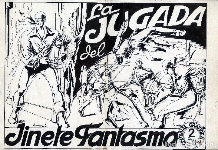 ART COMIC AMBROS ORIGINALTAMAÑO 34 X 47 CENTIMETROS CON COLOR POR DETRAS (Tebeos y Comics - Art Comic)