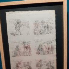 Cómics: RAMÓN CILLA, PÁGINA ORIGINAL DE HISTORIETA PIONERA DEL COMIC ESPAÑOL. JOSELITO. Lote 194569610