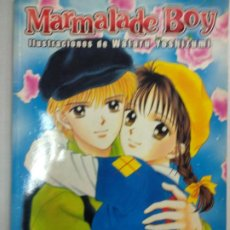 Cómics: MARMALADE BOY - ILUSTRACIONES - ART BOOK - NORMA. Lote 194579202