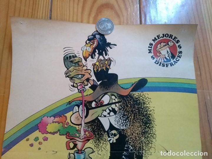 Cómics: Poster Mortadelo disfrazado de Bruja - Foto 3 - 194709280