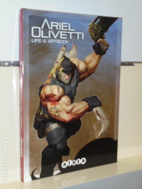 ARIEL OLIVETTI LIFE & ARTBOOK - ALETA - OFERTA (FORMATO 22X16 CM.) (Tebeos y Comics - Art Comic)