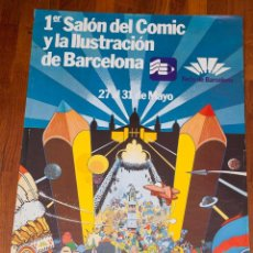 Cómics: GALLARDO - 1ER SALON DEL COMIC BARCELONA - 1981. Lote 194944847