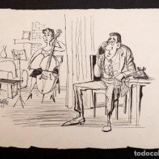 Cómics: MINGOTE - ORIGINAL A TINTA. Lote 194945808