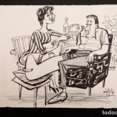 Cómics: MINGOTE - ORIGINAL A TINTA. Lote 194945865