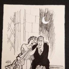 Cómics: MINGOTE - ORIGINAL A TINTA. Lote 194945895