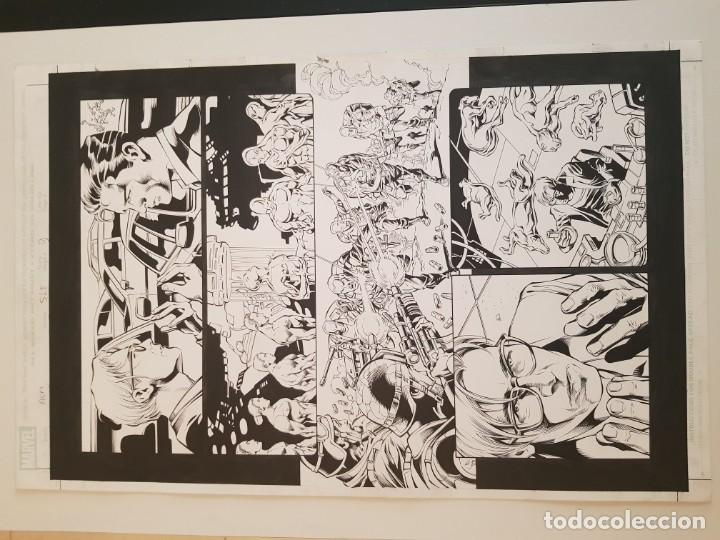 Cómics: AMAZING SPIDERMAN#515. PAGINA 09. MIKE DEODATO Jr (El original va acompañado del comic americano) - Foto 3 - 195073435