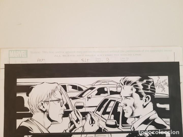 Cómics: AMAZING SPIDERMAN#515. PAGINA 09. MIKE DEODATO Jr (El original va acompañado del comic americano) - Foto 4 - 195073435