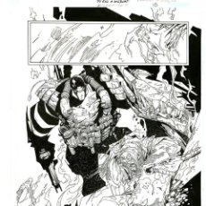Cómics: DIBUJO ORIGINAL DE CARLOS MEGLIA - TO KILL A WILDCATS P.15, EDITORIAL DC. Lote 195108683